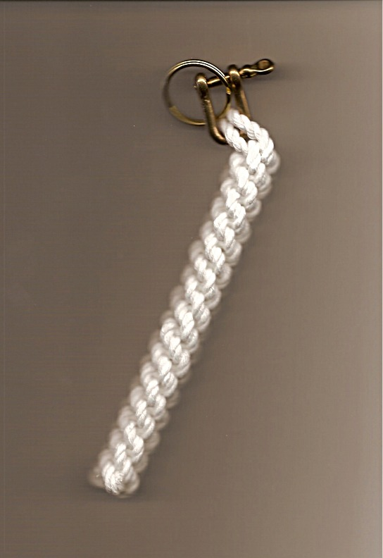 Braided Cotton Rope Bell Lanyard