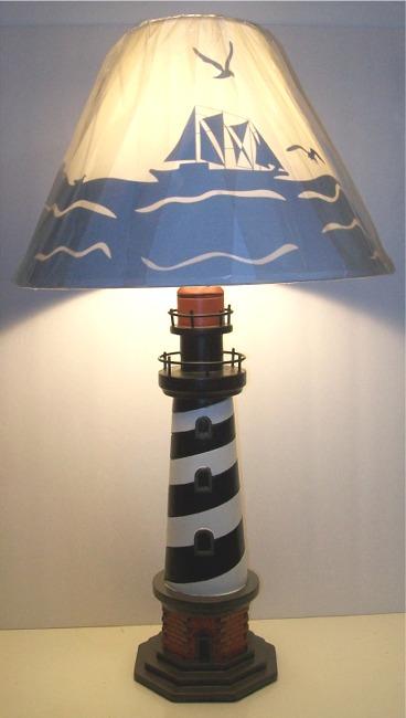 Marvelous Cape Hatteras Lighthouse Table. Lamp